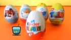 Sürpriz Yumurta Açımı Örümcek Adam, Disney Oyuncak Uçaklar, Kinder Sürpriz Yumurtalar