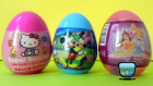 Yeni Sürpriz Yumurtalar - Disney Princess, Hello Kitty, Mickey Fare, Sürpriz Yumurta Oyuncakları