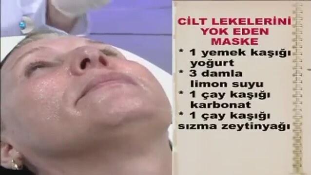 Cilt Lekelerini Önleyen Maske Doktorum