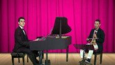 Papatya Gibisin Beyaz İnce Piyano Kemençe Tangoları Dansı Vals Bale Danscı Çiçek Salon Yarışma Dans