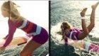 Sörfçü Kızın Haykırarak İzleyeceğiniz Dramı