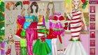 Barbie Yılbaşı Giydirme Oyunu Nasıl Oynanır