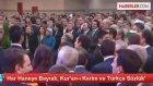 Davutoğlu: Makedonyada Her Haneye Bayrak ve Kuran-ı Kerim Vereceğiz