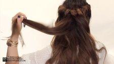 Evde Yapabileceğiniz Bir Saç Tasraımı