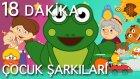 KÜÇÜK KURBAĞA ve EN Popüler 10 Çocuk Şarkısı - AdisebabaTV Çizgi Film Çocuk Şarkıları