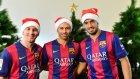 Barça'lı Yıldızlardan Noel Kutlaması