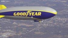 Yeni Goodyear Keşif Balonunun İlk Uçuşu