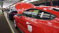 2015 Ford Mustang PRODUCTION at Flat Rock, Michigan