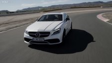 2015 Mercedes CLS 63 S AMG Coupé on track