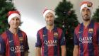 Barçalı Yıldızlardan Noel Mesajı