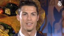 Ronaldodan Christmas Mesajı