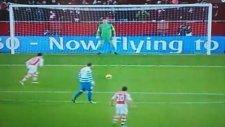 Alexis Sancheze Penaltı Sırasında Hemşeri Kazığı