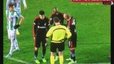 Atiba Hutchinsonın Konyaspor Maçında Gördüğü Kırmızı Kart