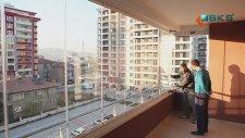BKS Cam Balkon Montajı - BKS Cam Balkon Sistemi