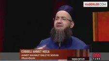 Cübbeli Ahmet Hoca: Demba Ba Günah İşliyor