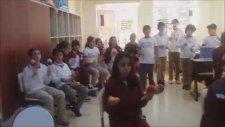 Öğretmen Marşı Alnımızda Bilgilerden Beykent Mektebim Okulu Hasan Murat Gürbüz