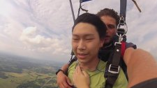 Paraşütle Atlama Sırasında Korkudan Baygınlık Geçiren Adam