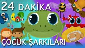 Küçük Kurbağa ve En Güzel Çizgi Film Çocuk Şarkıları - Edis ile Feris