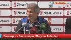 Bursaspor - Samsunspor Maçının Ardından