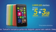 Turkcell Nokia Lumia 630 Akılalmaz Kampanya