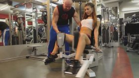 Fitnes Antrenörü & Rus Kızı