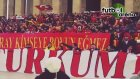 Galatasaray Taraftarları Anıtkabirde