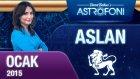 ASLAN burcu aylık yorumu Ocak 2015