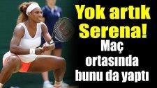 Serena Williams Maç Ortasında Kahve İçti