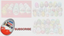 10 Kinder JOY Sürpriz Yumurta Açma (Arabalar 2 / Sünger Bob)
