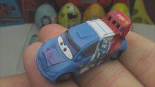 12 Kinder Sürpriz Yumurta Açma (Arabalar 2 / Tomas / Sünger Bob)