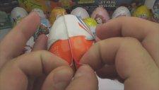 21 Kinder JOY Sürpriz Yumurta Açma (Arabalar 2 / Sünger Bob / Tomas ve Arkadaşları)
