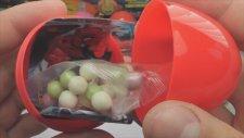 24 Kinder Sürpriz Yumurta Açma (Mini ve Miki Fare / Arabalar 2 / Sünger Bob)