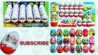 24 Kinder Sürpriz Yumurta Açma (Mini ve Miki Fare / Arabalar 2)