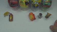 4 Sürpriz Yumurta ve 5 Kinder Sürpriz Yumurta Açma (Süper Mario / Oyuncak Hikayesi / Sünger Bob / Ar