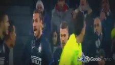 Osvaldo, takım arkadaşı İcardiye saldırdı