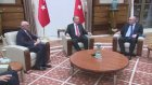 Arjantin Dışişleri Bakanı Timerman'ı Kabul Etti