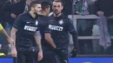 Osvaldo ile Icardi birbirlerine girdiler!