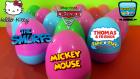 17 Sürpriz Yumurta Açımı, Yeni Renkli Sürpriz Yumurtalar!