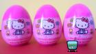3 Hello Kitty Sürpriz Yumurta Açımı, Hello Kitty Oyuncak Yumurtalar