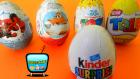 5 Sürpriz Yumurta Açımı: Disney Oyuncak Uçaklar, Örümcek Adam ve Kinder Sürpriz Yumurtalar
