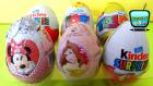 6 Sürpriz yumurta açımı! Mickey Mouse, Disney Prenses ve Kinder Sürpriz Yumurta Oyuncakları