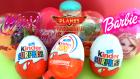 8 Sürpriz Yumurta! Barbie, WinX, Kinder Joy ve Disney Uçaklar 2 Filmi Oyuncakları