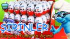 Kinder Sürpriz Yumurta Şirinler Serisi Oyuncakları, Oyuncak Yumurtalar!