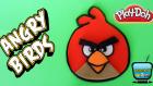 Oyun Hamuru ile Angry Birds Yapımı