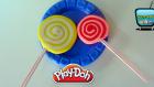 Oyun Hamuru ile Lolipop Şeker Yapımı