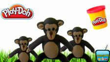 Oyun Hamuru ile Maymun Yapımı