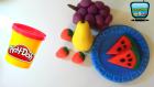 Oyun Hamuru ile Meyveler, Karpuz Dilimi, Çilek, Armut ve Üzüm!