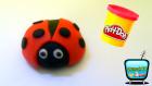 Oyun Hamuru ile Uğur Böceği Yapmak