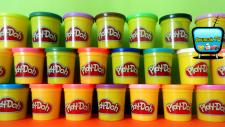 Play Doh 24lü Oyun Hamuru Paketi Açımı, Rengarenk Oyun Hamurları!