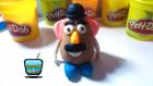 Play Doh Oyun Hamuru ile Bay Patates Kafa Yapımı